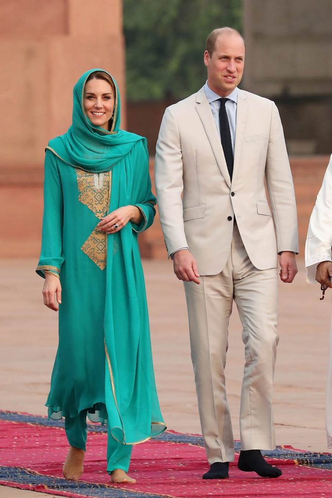 Here's What Kate Middleton Wrote To Designer Maheen Khan
