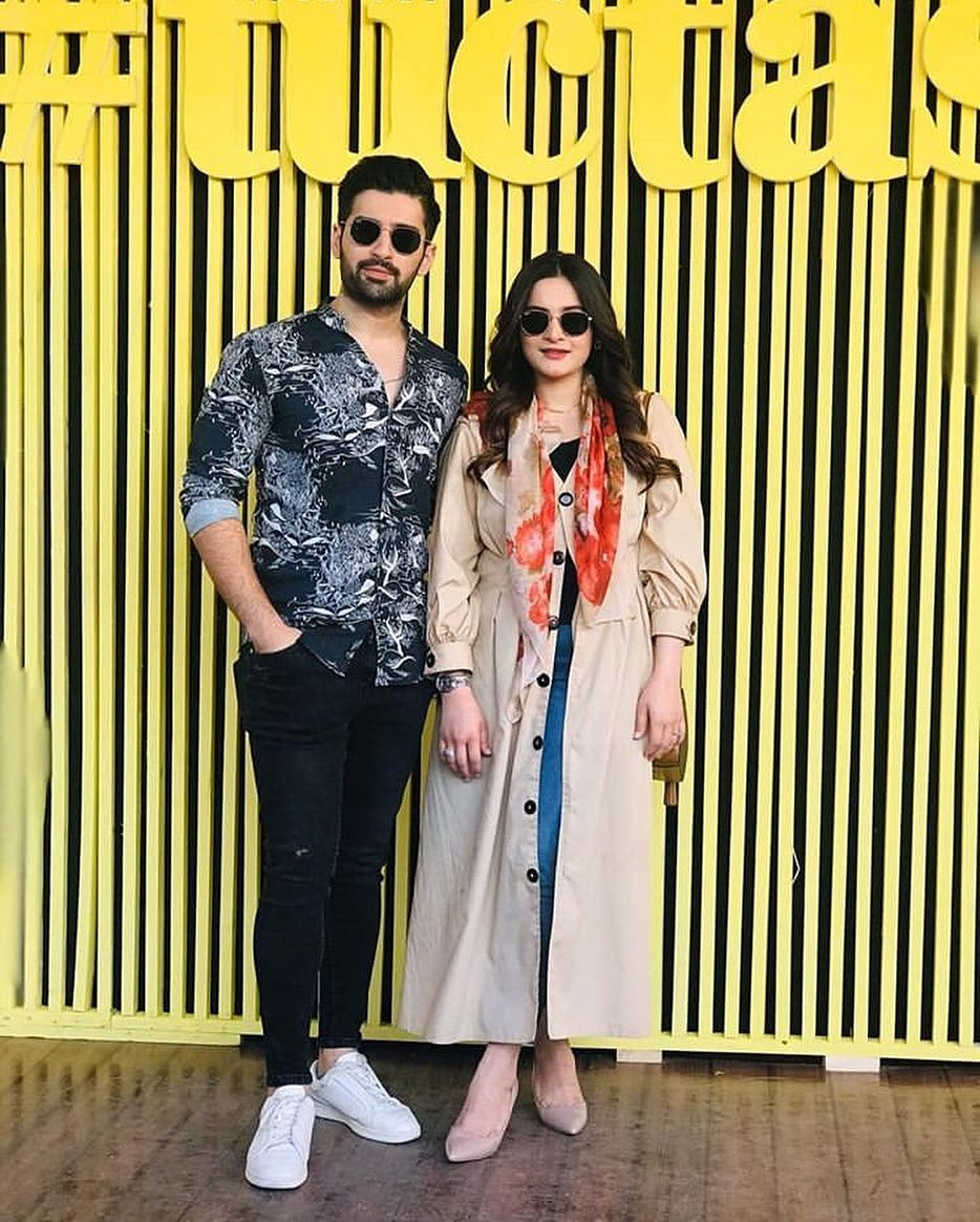 Aiman Khan, Muneeb Butt and Minal Khan Spotted at Tuctastic Event