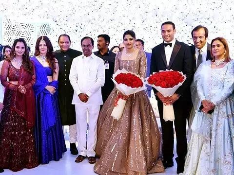 Anam Mirza Wedding Reception 15