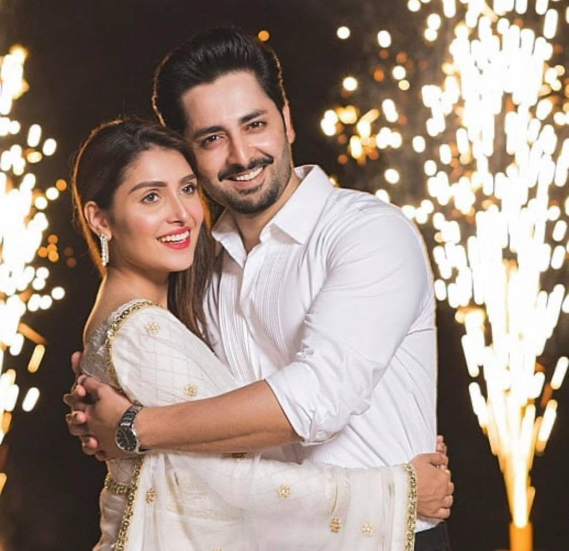 Top 10 Pictures of Ayeza Khan and Danish Taimoor | Reviewit.pk