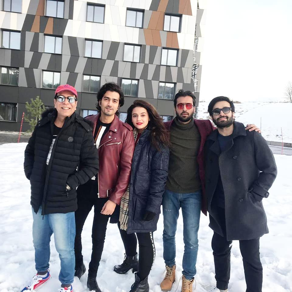 Pakistani Celebrities Spotted in Oslo Norway for IPPA Awards