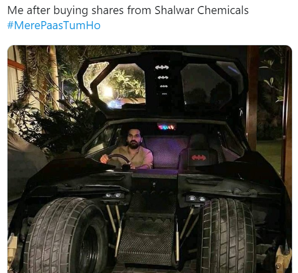 Humayun Saeed sets fire on social media as Danish invests in Shahwar Chemicals
