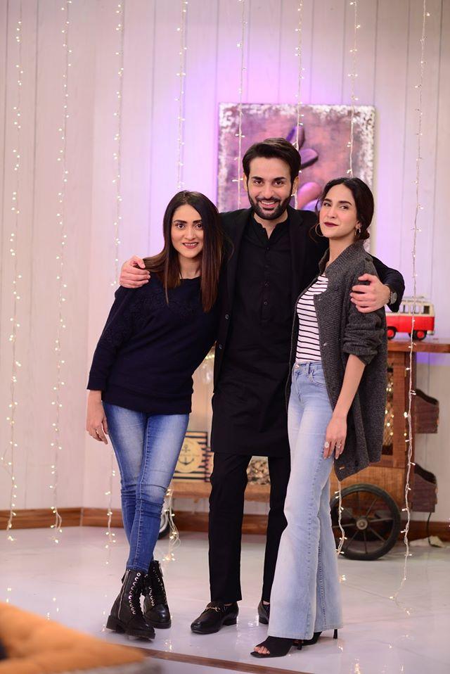 Drama Serial Ghalati Cast Appeared Today in Good Morning Pakistan
