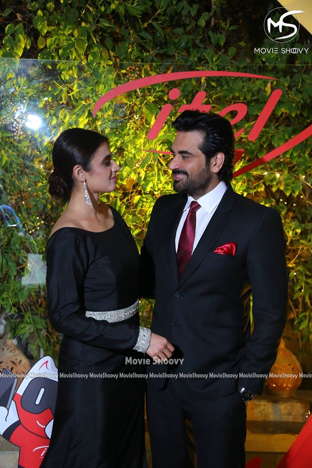 Gorgeous Hira Mani and Handsome Humayun Saeed Spotted at an Event