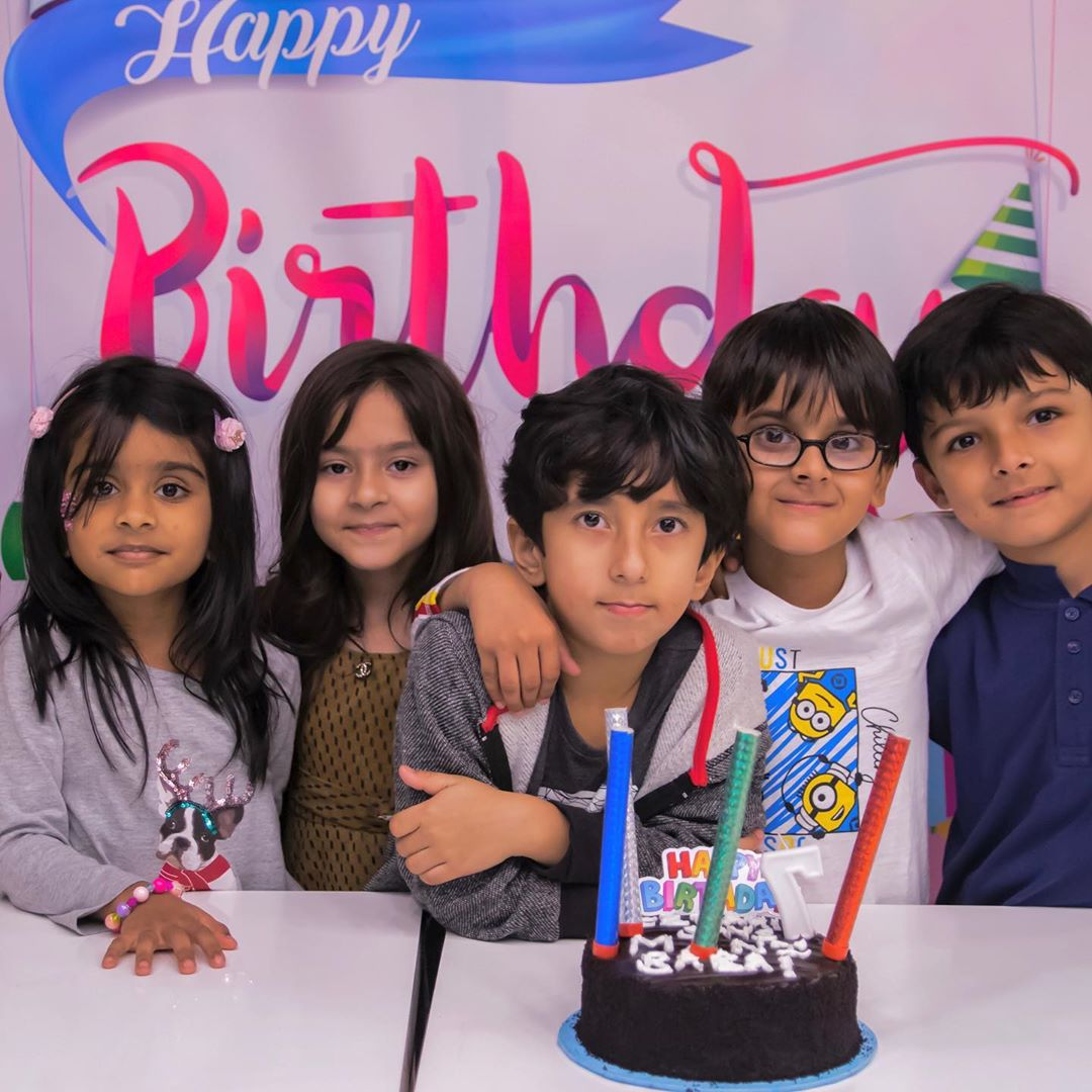 Hira and Mani Celebrated Birthday of Their Son Ibrahim