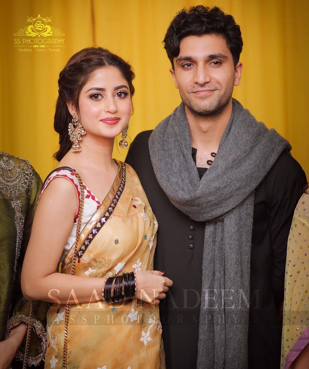 Beautiful HD Pictures of Iqra Aziz and Yasir Hussain Mehndi