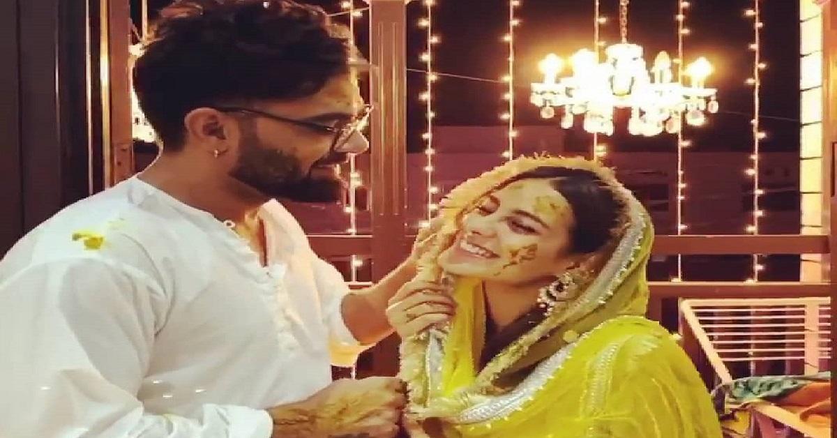 Yasir Hussain and Iqra Aziz Beautiful Mayun HD Pictures