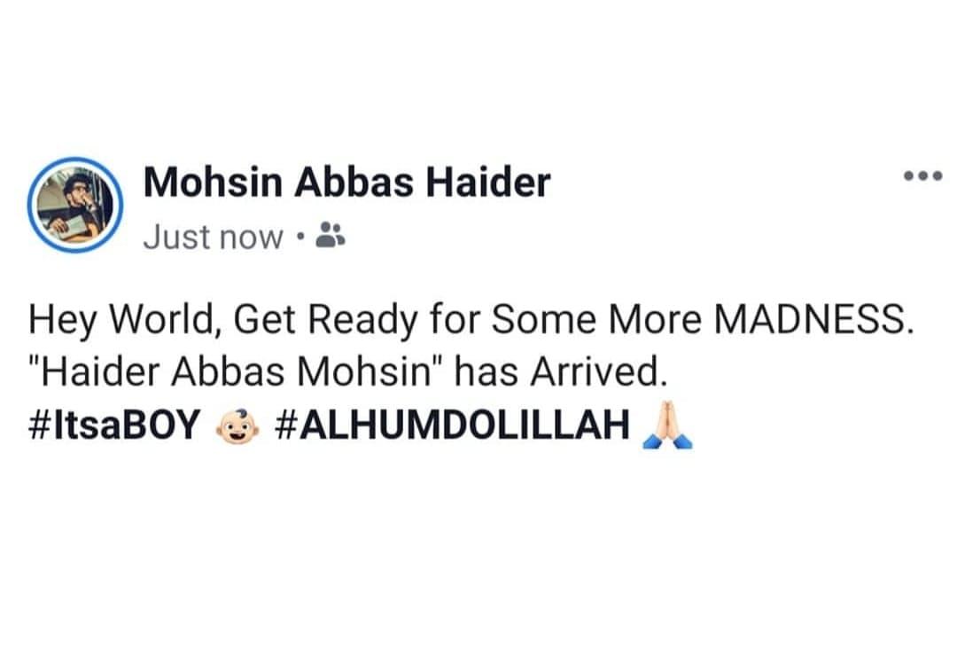 Mohsin Abbas Haider 1