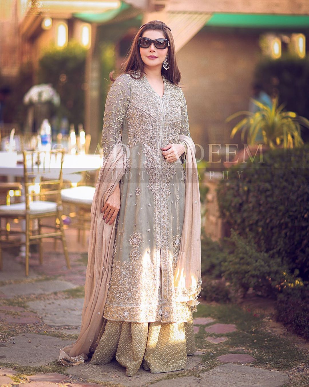 Nida and Yasir Nawaz Beautiful Clicks from Iqra Yasir Wedding