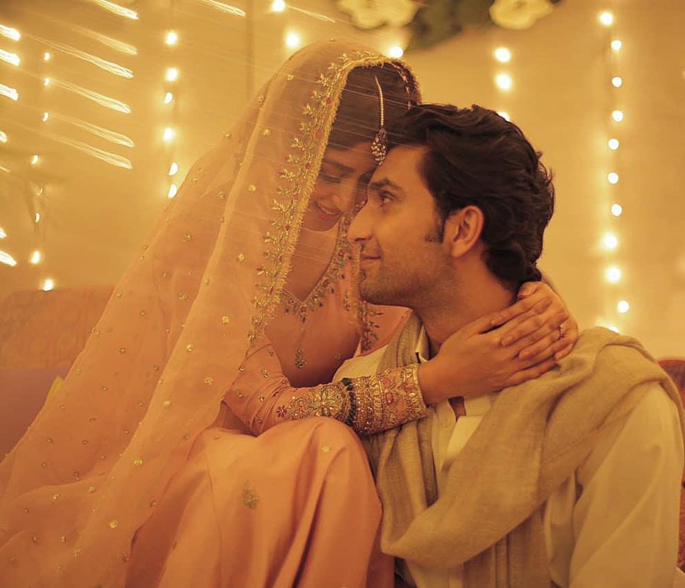 Ahad Raza Mir denies rumors of marrying Sajal Aly in Turkey