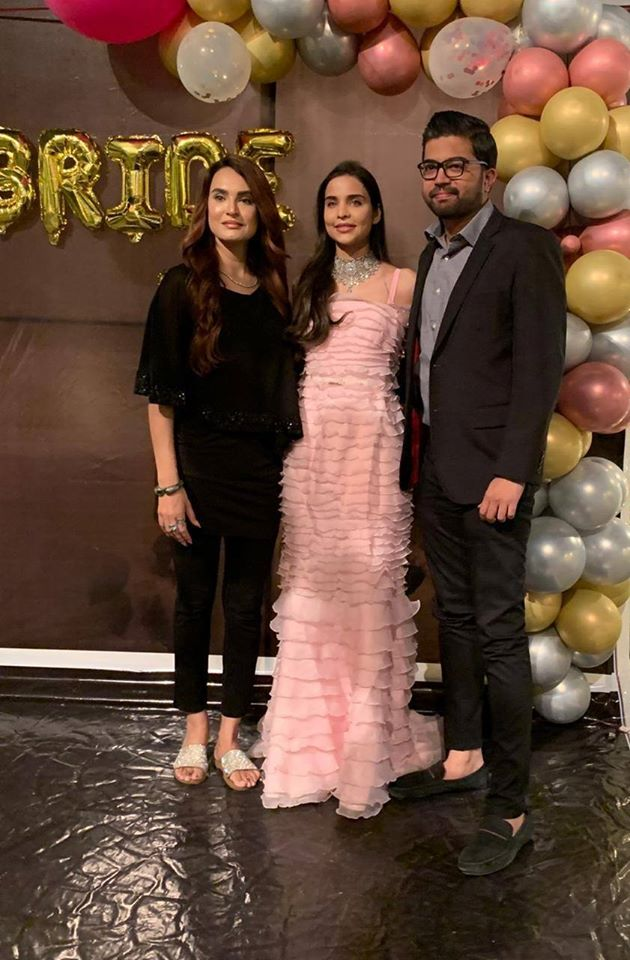 Fashion Model Sana Sarfaraz Bridal Shower Pictures