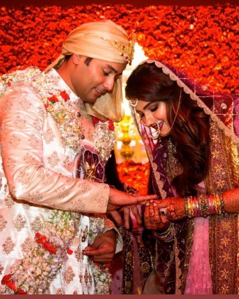 Sania Mirza's Sister Anam Mirza Marries Cricketer Azharuddin's Son Asad in Hyderabad India