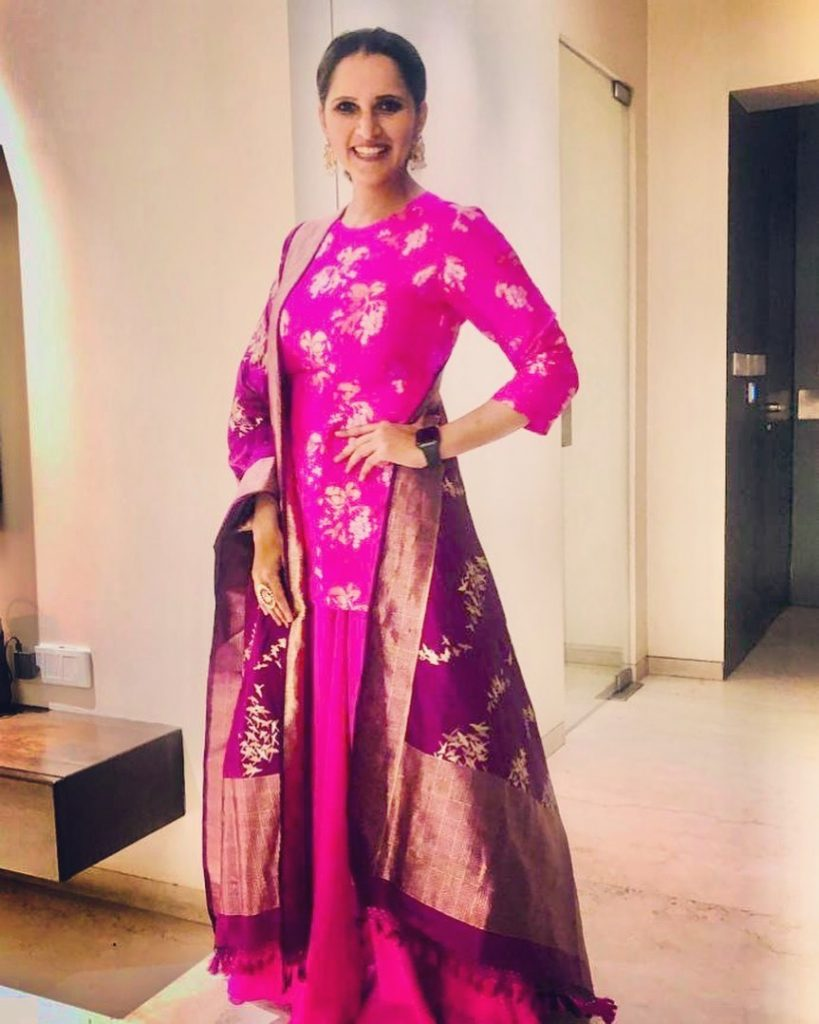 Sania Mirza Posted Cutest Pictures With Her Baby