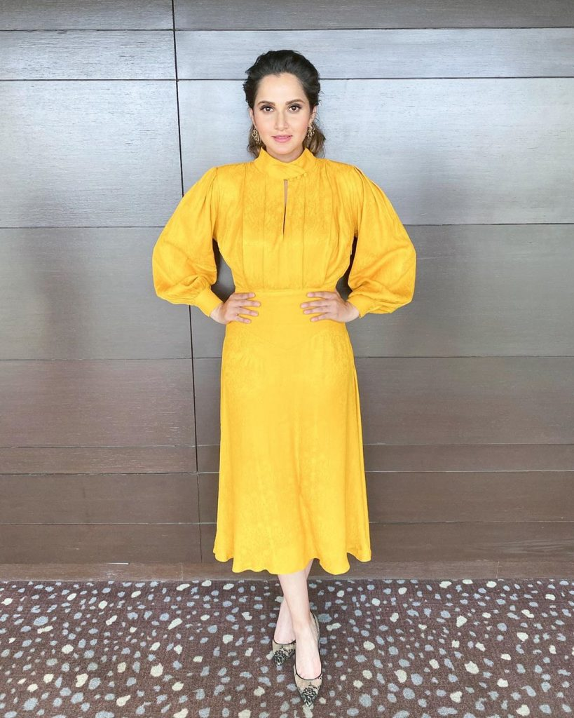 Sania Mirza Posted Cutest Pictures With Her Baby 3
