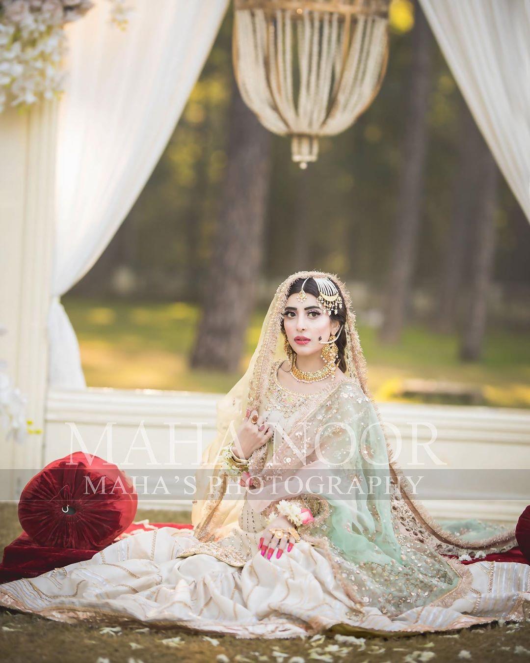 Latest Bridal Photo Shoot of Gorgeous Urwa Hocane
