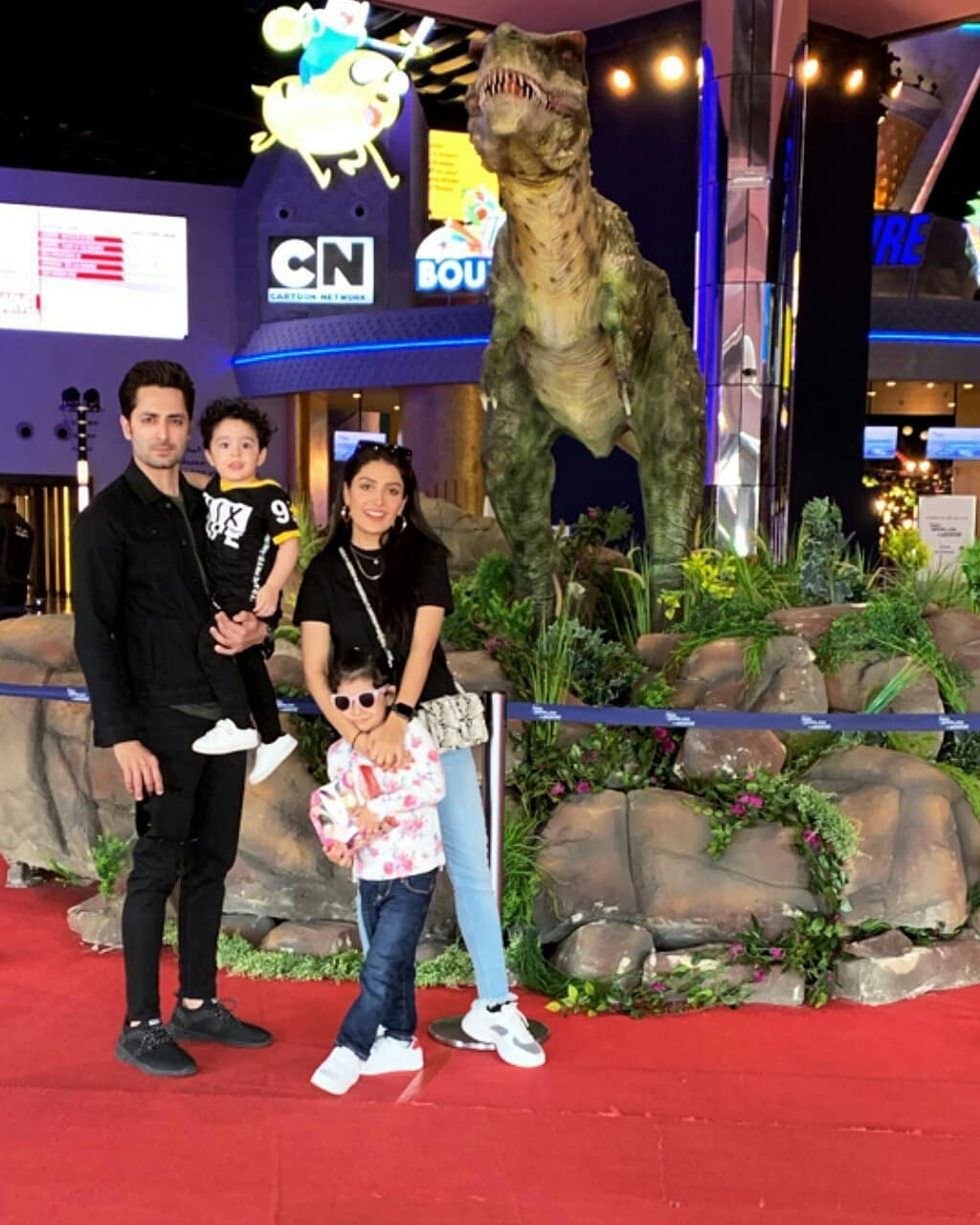 Ayeza Khan and Danish Enjoying Vacation with their Kids in Dubai