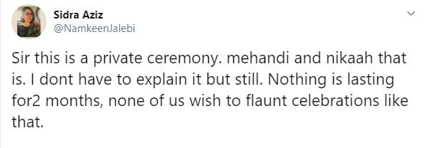 Iqra Aziz's sister shuts trolls about Iqra-Yasir's wedding