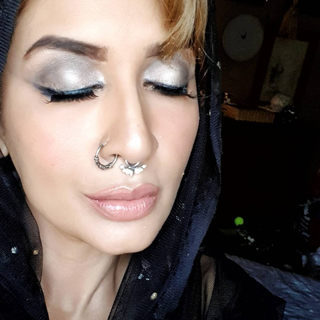 Actress Saman Ansari in a New Look for Upcoming Project