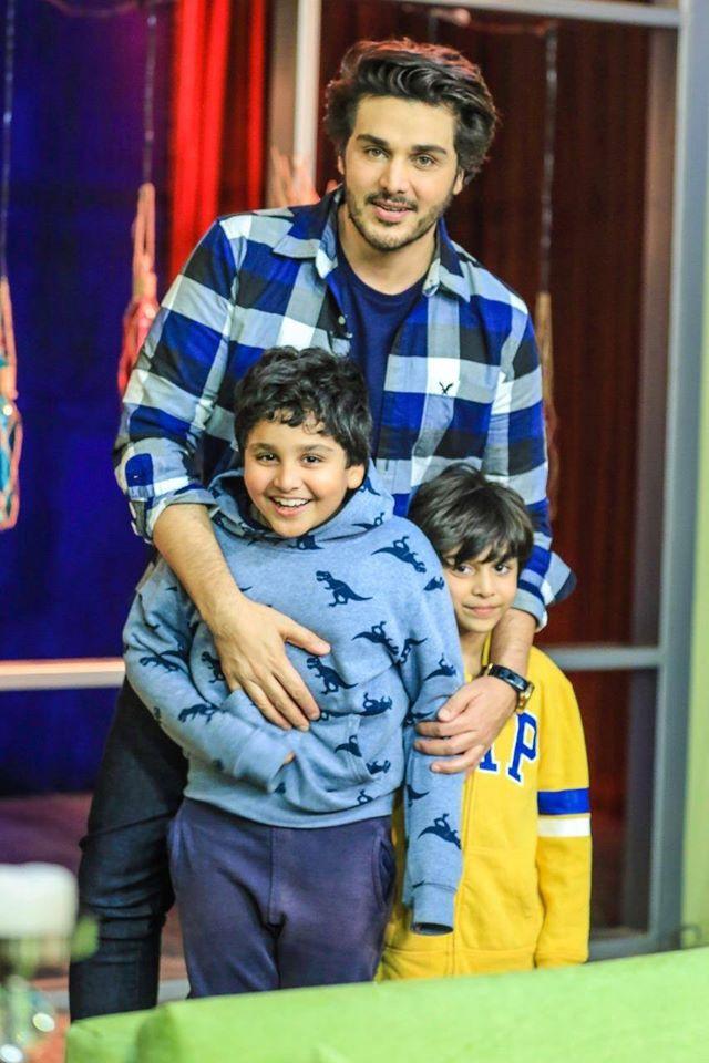 Ahsan Khan Kids 1
