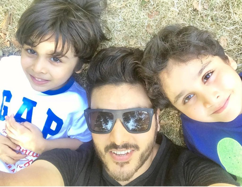 Ahsan Khan Posts TikTok Video Featuring His Sons 1