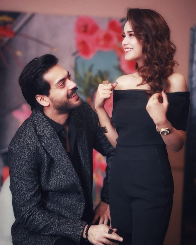 Aima Baig And Shahbaz Shigri Talking About Their Ideal Life Partners 7