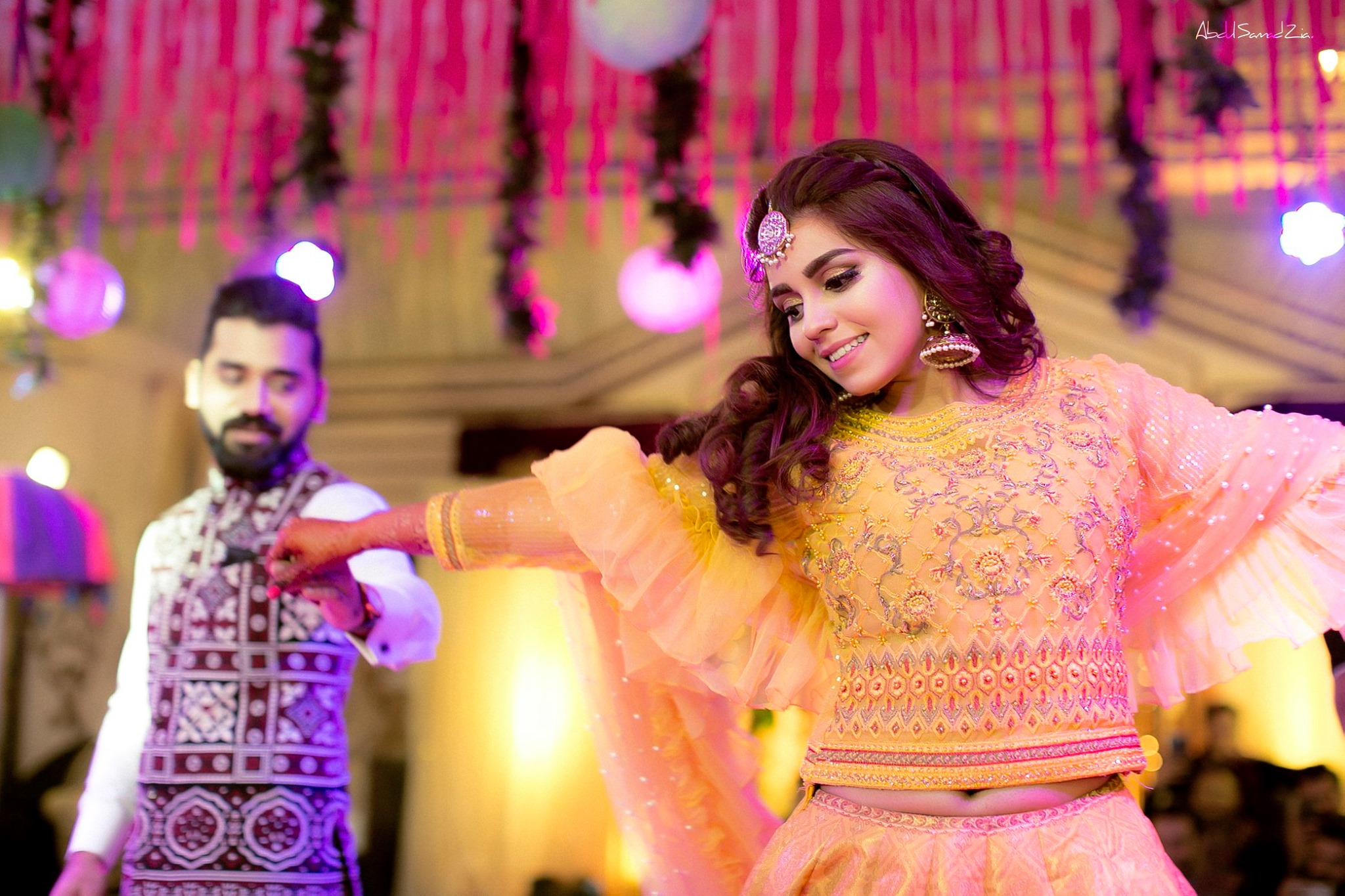 Exclusive Nikkah and Mehndi Pictures Of Suno Chanda Fame Star Anumta Qureshi And Sarang Kazi