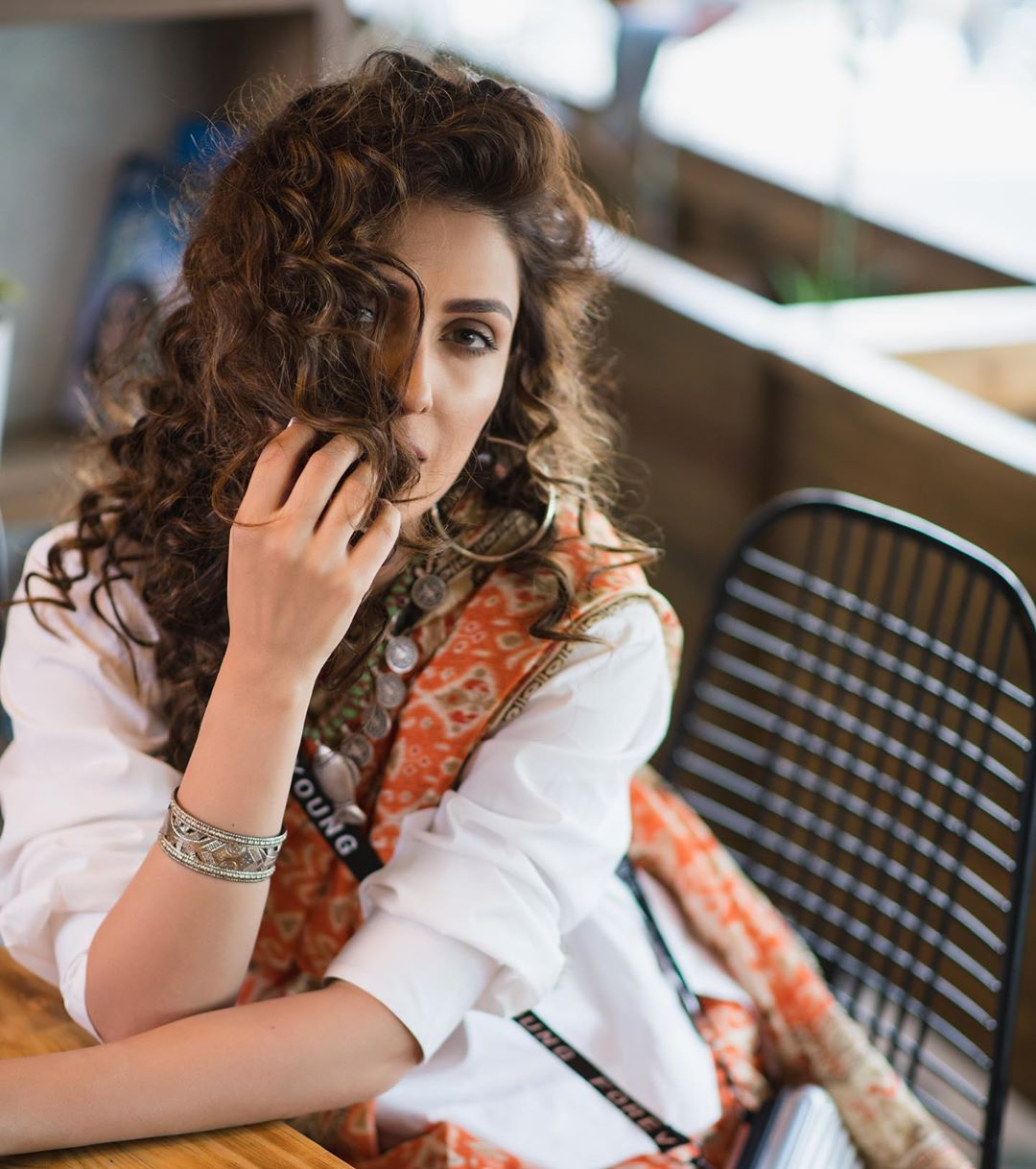 Ayeza Khan Shared her Favorite Look from her Recent Photo Shoot