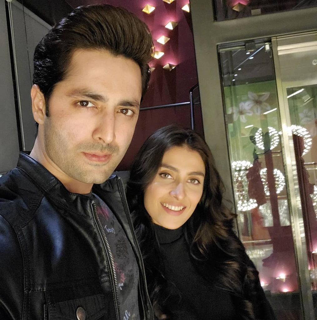 Ayeza Khan And Danish Taimoor's New Year Wishes For Fans