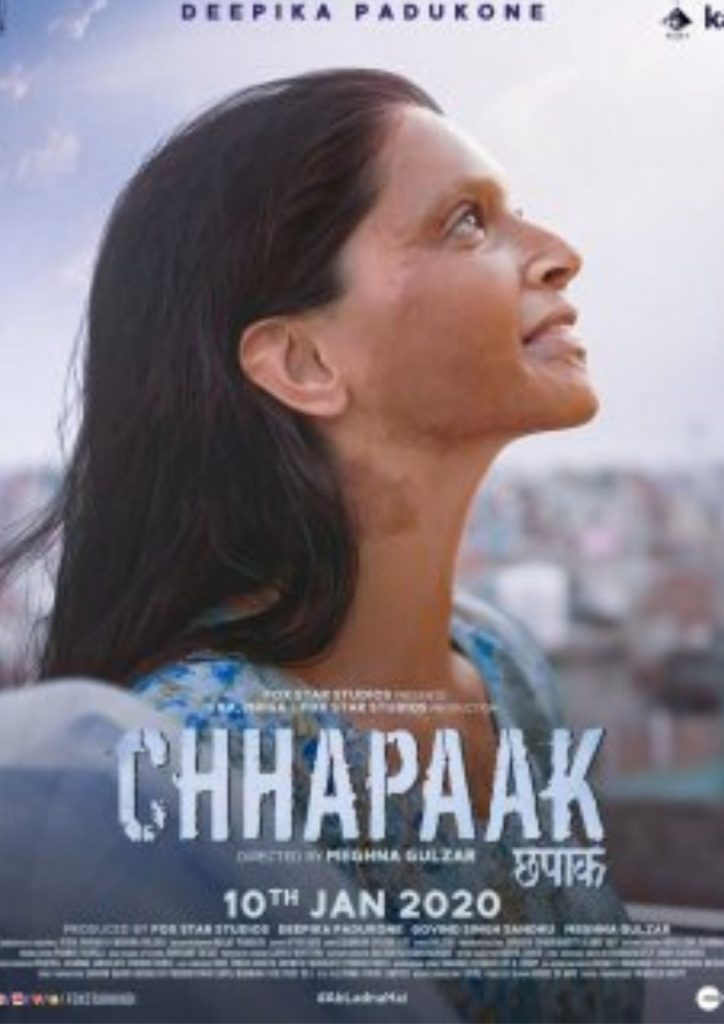 Chhapaak Movie First Look Poster