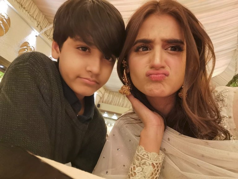 Hira Mani Shares Cute Pictures with her Elder Son on his Birthday