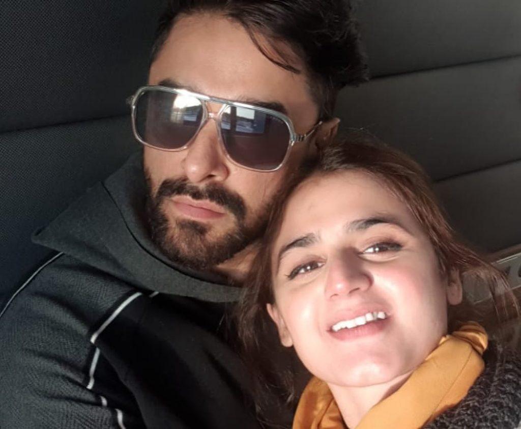 Hira Mani Shares Beautiful Post Wishing Her Parents