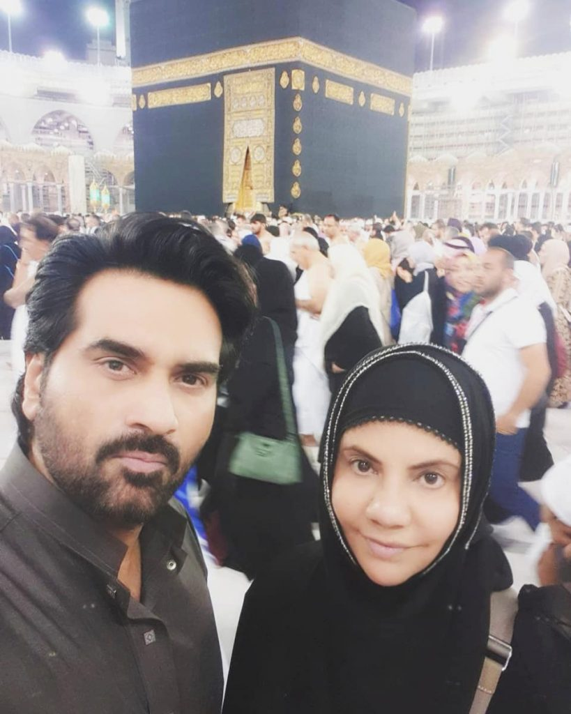 Humayun Saeed rings in New Year's with an Umrah