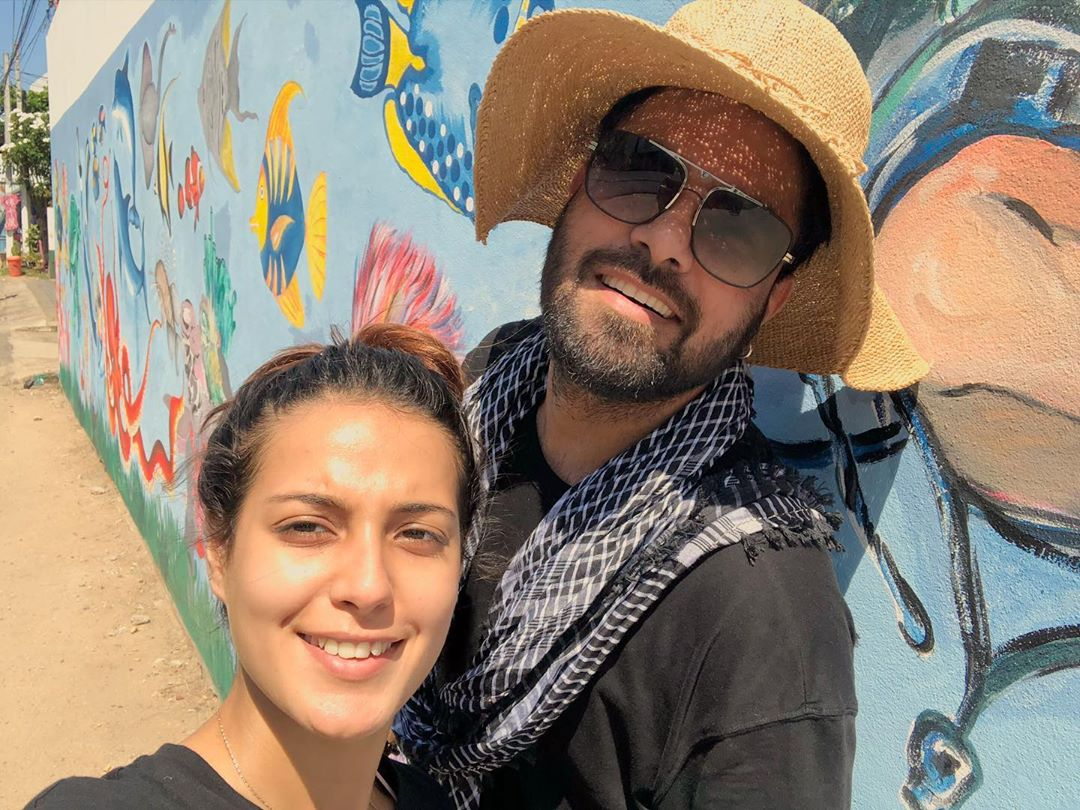 New Pictures from Iqra Aziz and Yasir Hussain Honeymoon in Sri Lanka