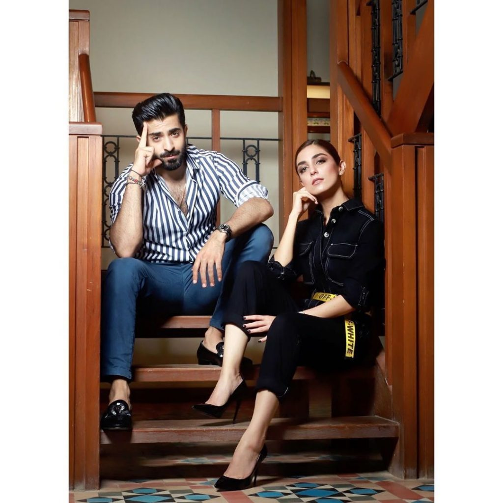 Maya Ali And Sheheryar Munawar Upcoming Drama - BTS Video