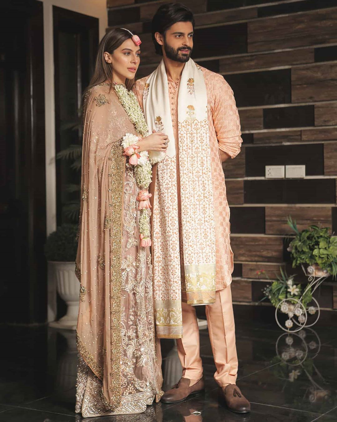Actor Saad Qureshi's Beautiful Sangeet Night and Nikkah Pictures