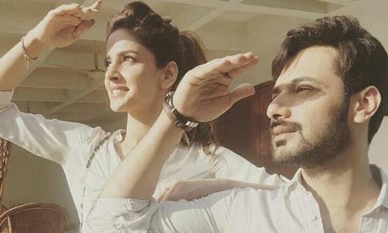 Saba Qamar And Zahid Ahmed Have Signed A Film 45