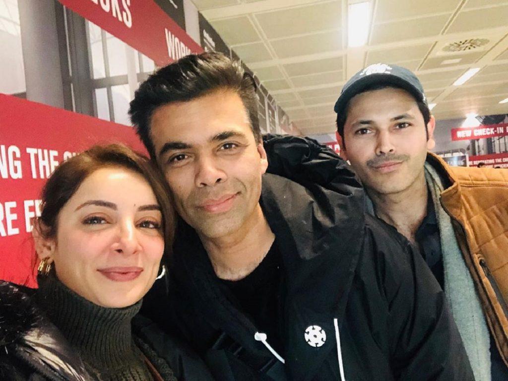 Sarwat Gillani And Fahad Mirza Had Fan Moment With Karan Johar