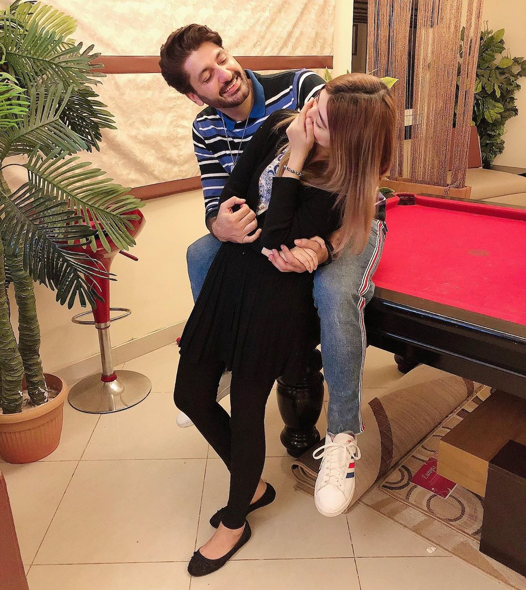 Syed Jibran's Latest Beautiful Pictures With His Wife And