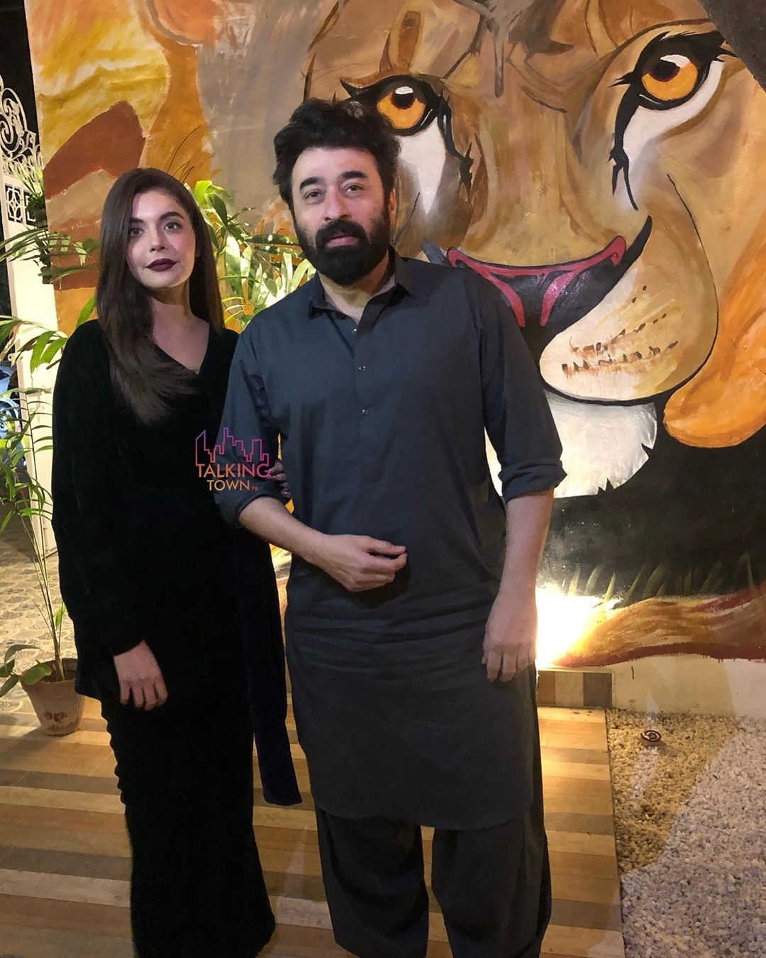 Actors Yasir Nawaz and Kanwar Arslan with their Wives at launch of their New Restaurant The Forest