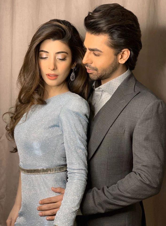 Farhan Saeed and Urwa Hocane Latest Couple Shoot