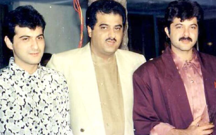 anil kapoor with siblings