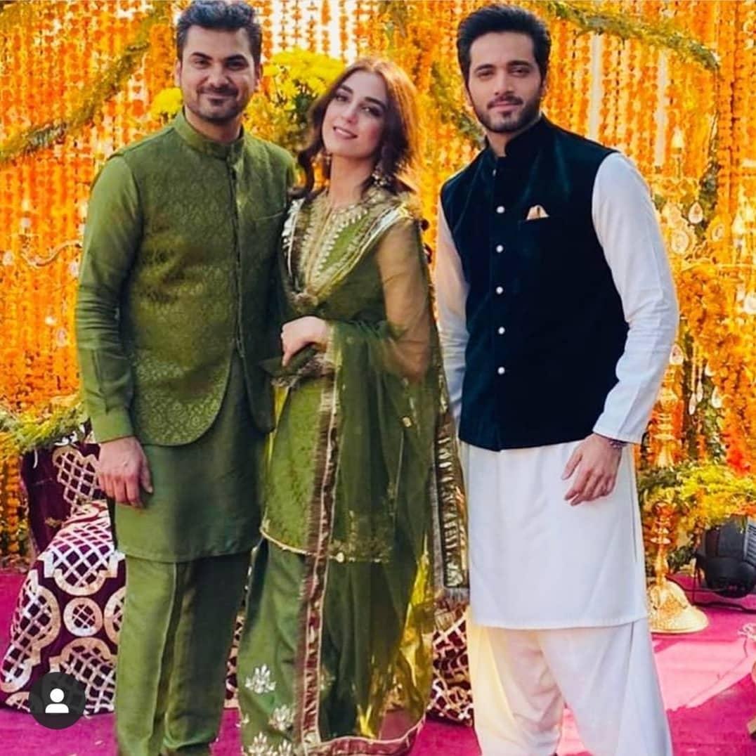 Afnan Qureshi Beautiful Mayoun Pictures 3