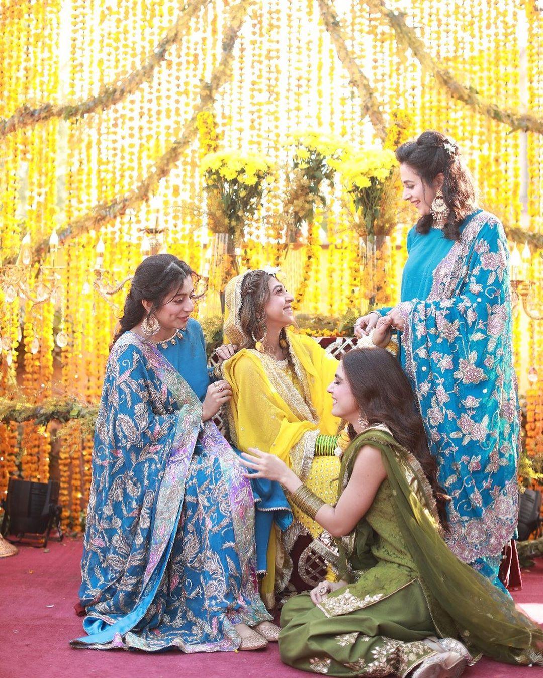 Afnan Qureshi Beautiful Mayoun Pictures 8