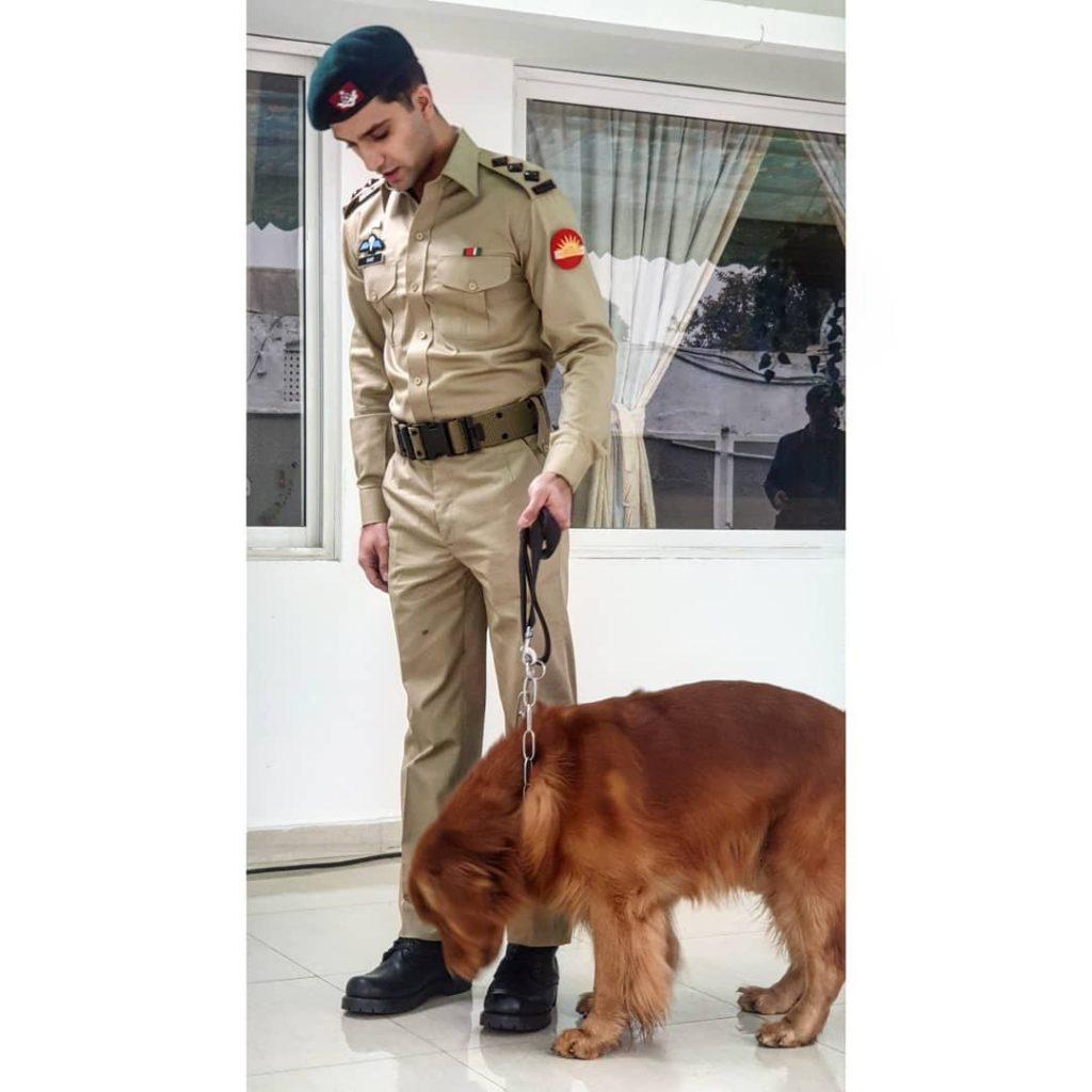 Ahad Raza Mir Loves Working With Animals 26