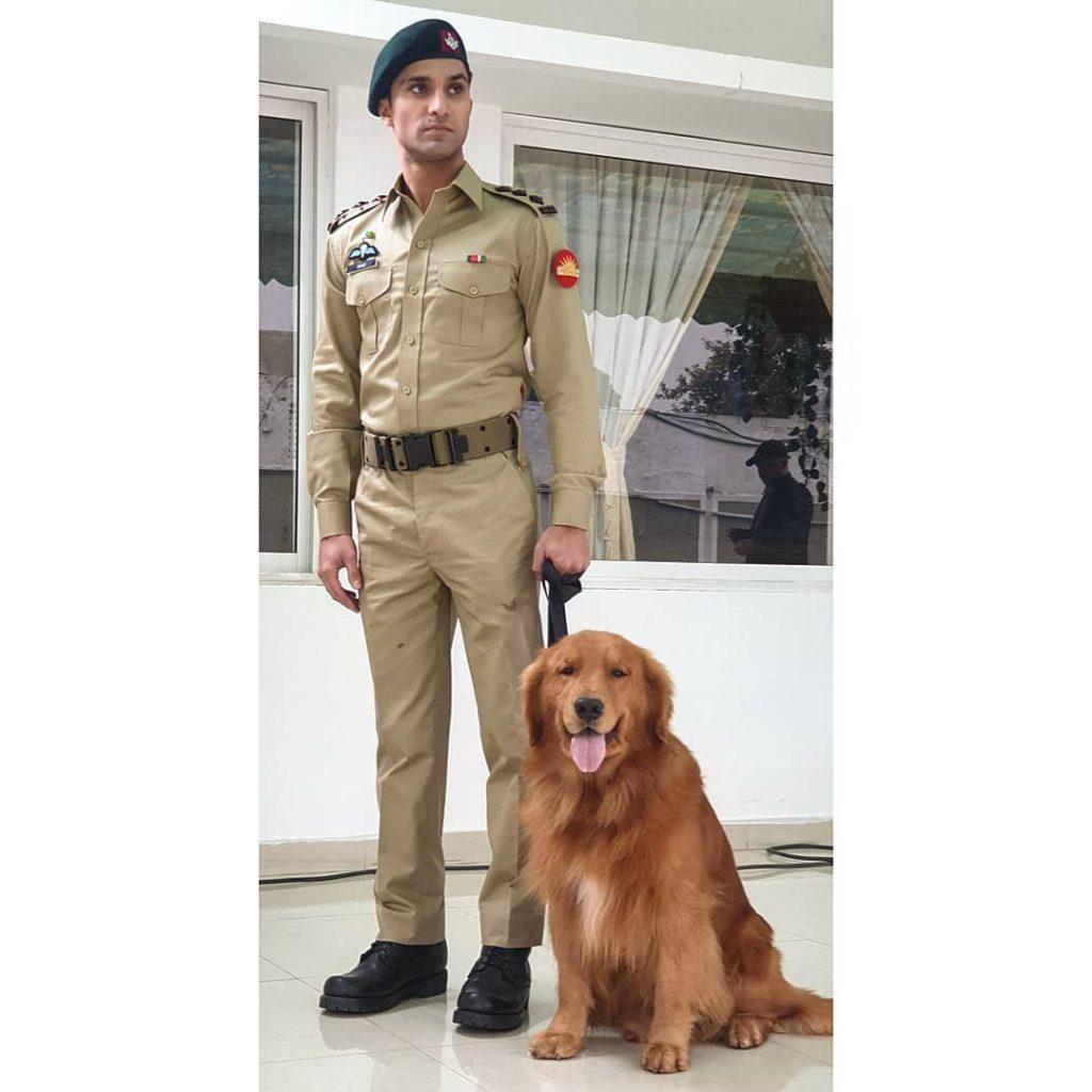 Ahad Raza Mir Loves Working With Animals 27