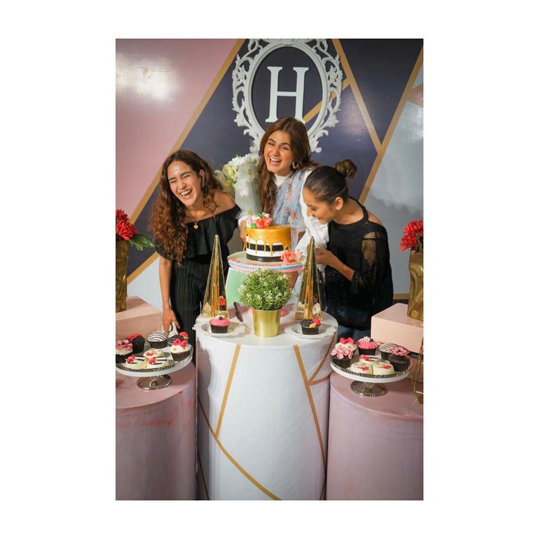 Beautiful Clicks from the Birthday Bash of Actress Hira Mani
