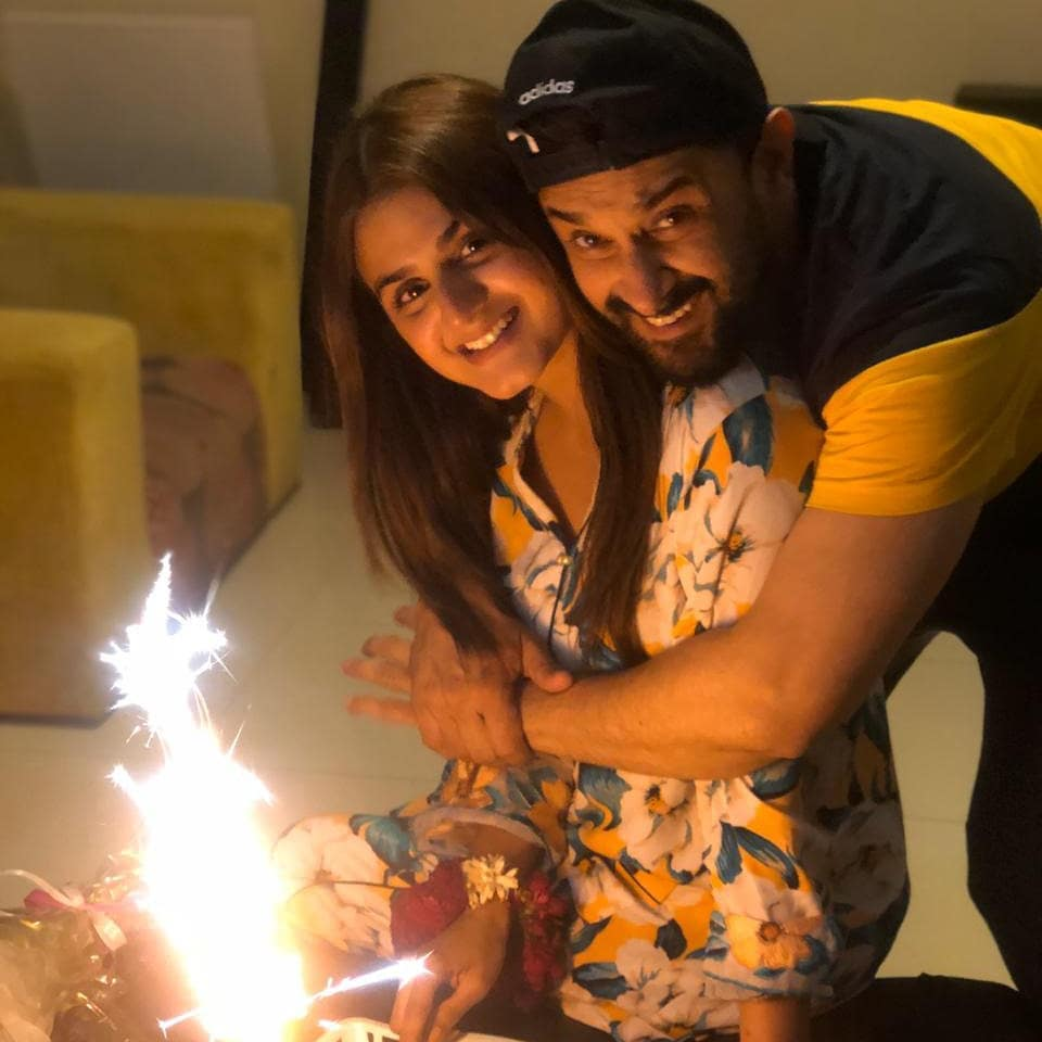 Beautiful Pictures from Hira Mani Surprise Birthday