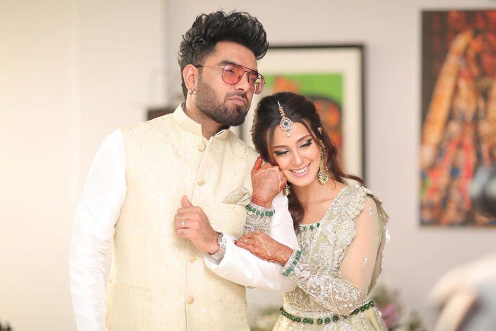 Iqra Aziz And Yasir Hussain Celebrate Valentine's Day