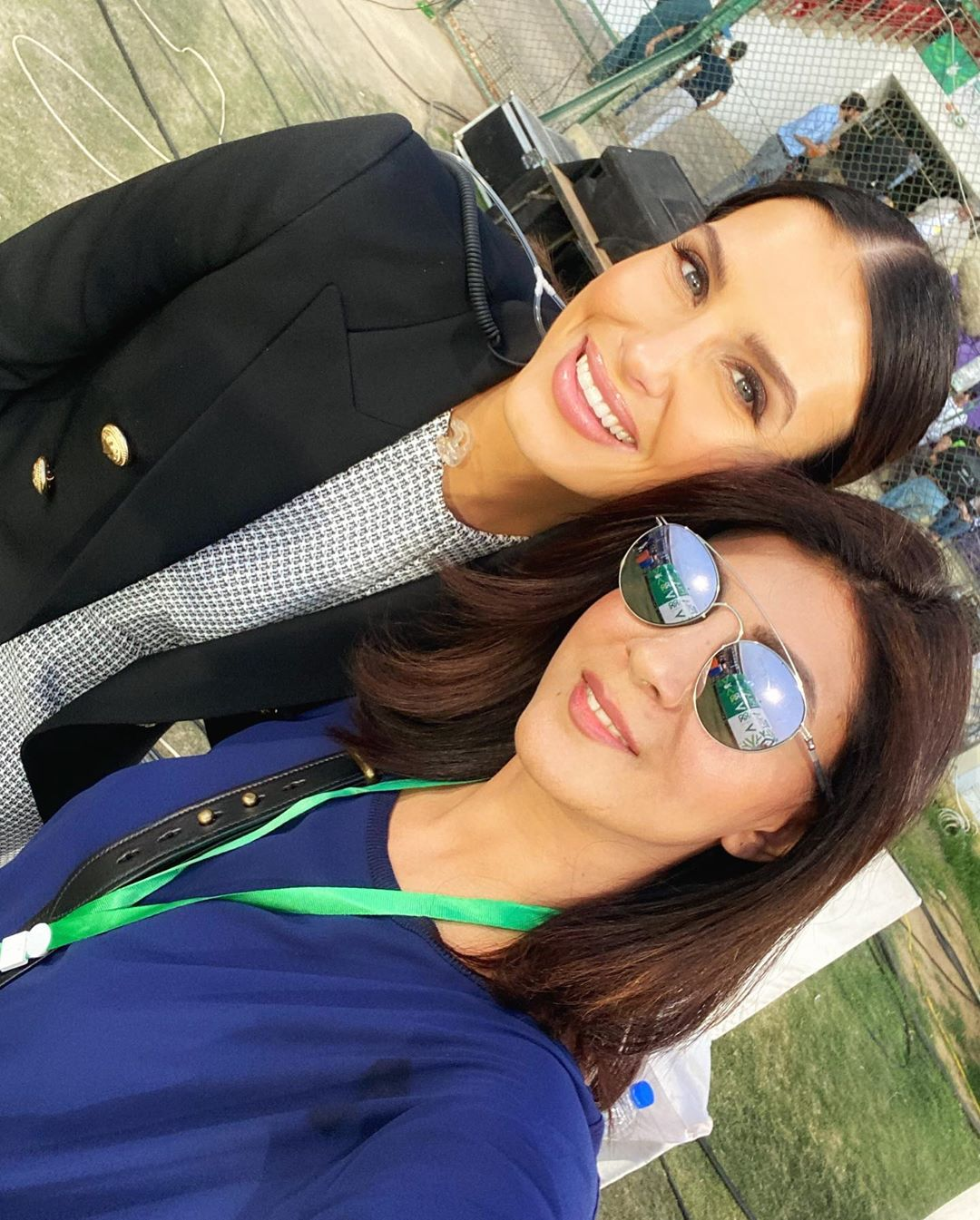 Celebrities Spotted at Karachi Stadium to Support Karachi Kings in PSL