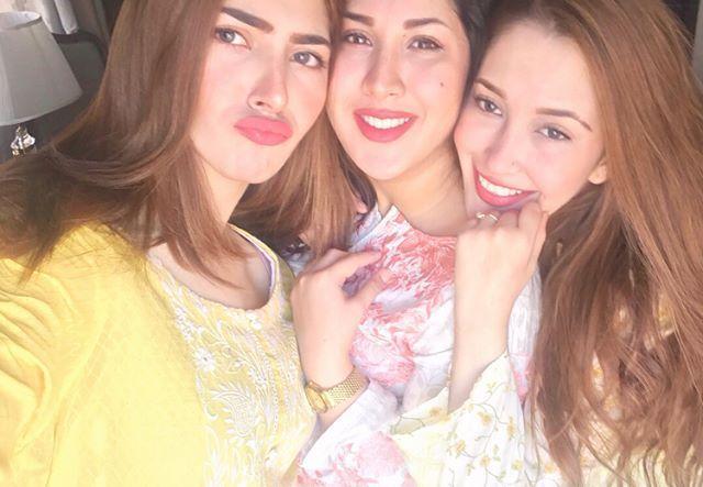 Beautiful Family Pictures of Naimal Khawar Abbasi